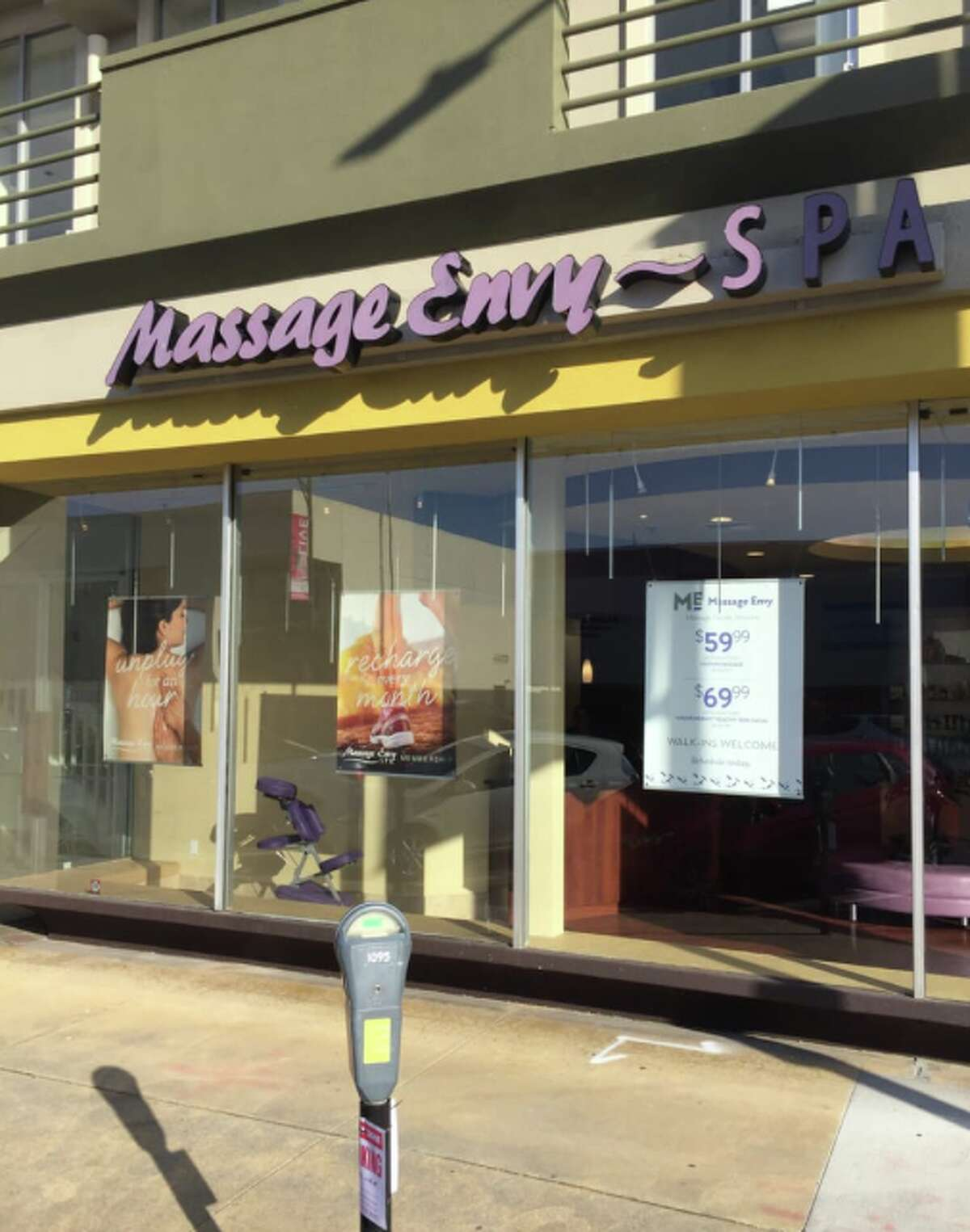 The Burlingame Massage Envy is one of the locations named in the lawsuit against the massage chain, accusing therapists of sexual assault.