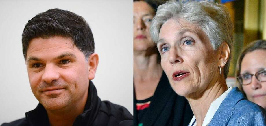 Republican incumbent George Amedore faces off against Democrat Pat Strong for the 46th Senate District.