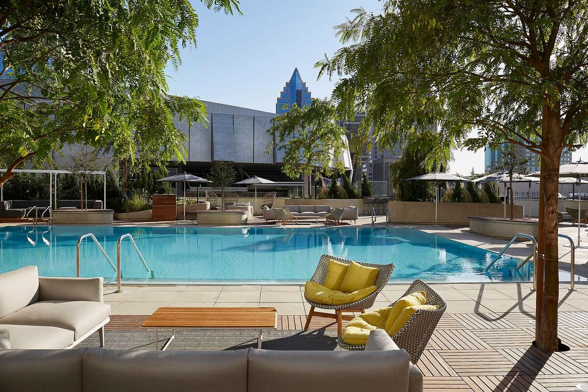 During the day, the Sawyer�s 7,120-square foot pool deck is open to guests, with cabanas, lounges and living room spaces, and Revival bar and lounge offers poolside snacks and cocktails.