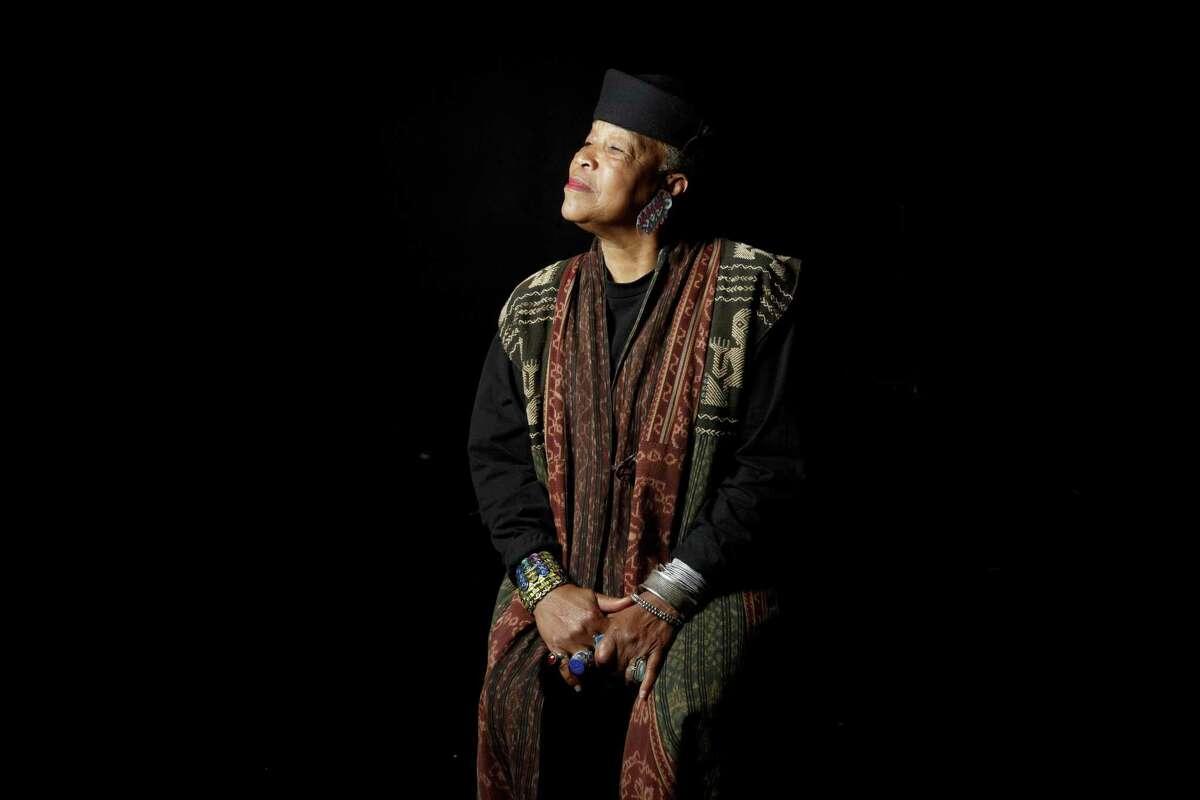 Rhodessa Jones is seen at the African American Art & Culture Complex in S.F.
