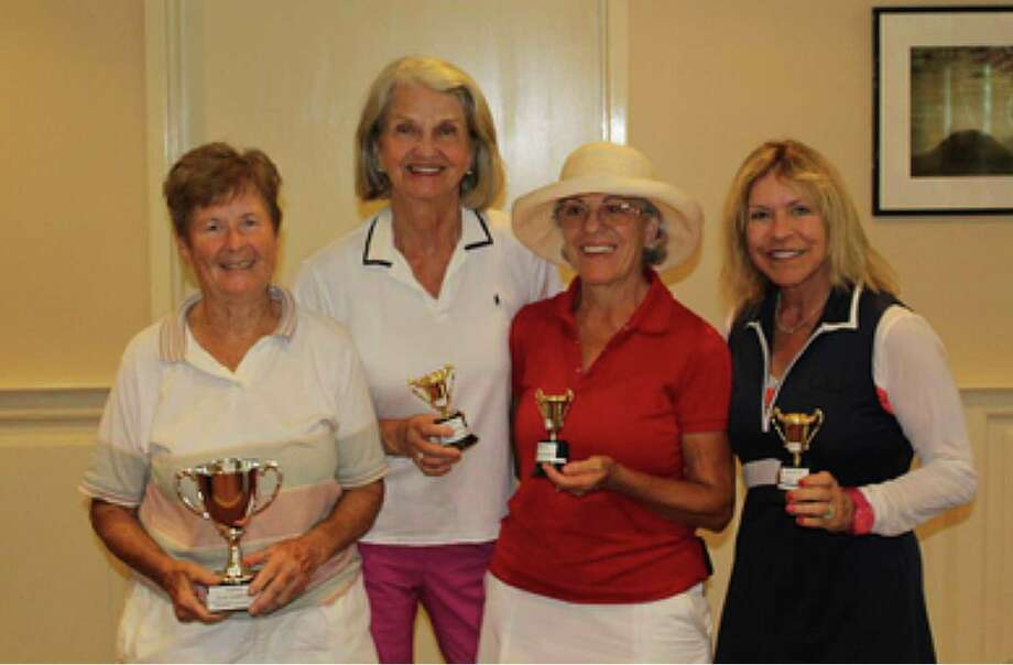 The Oak Hills Women's Golf Association announced the winners from their recent club championships. They include, from left, Marge Connelly, Stella Thomas, Maria Nunley and Julie Benson Barton. Photo: Contributed Photo