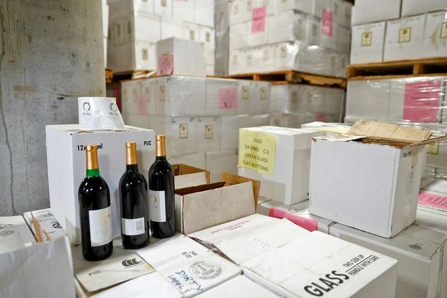 Wine stored at Renaissance Winery in Oregon House, Calif., on Tuesday, July 3, 2018. The winery, dating back to the early 70s, is owned and run by the Fellowship of Friends, a group formed around alternative religious and philosophical beliefs. Photo: Carlos Avila Gonzalez / The Chronicle