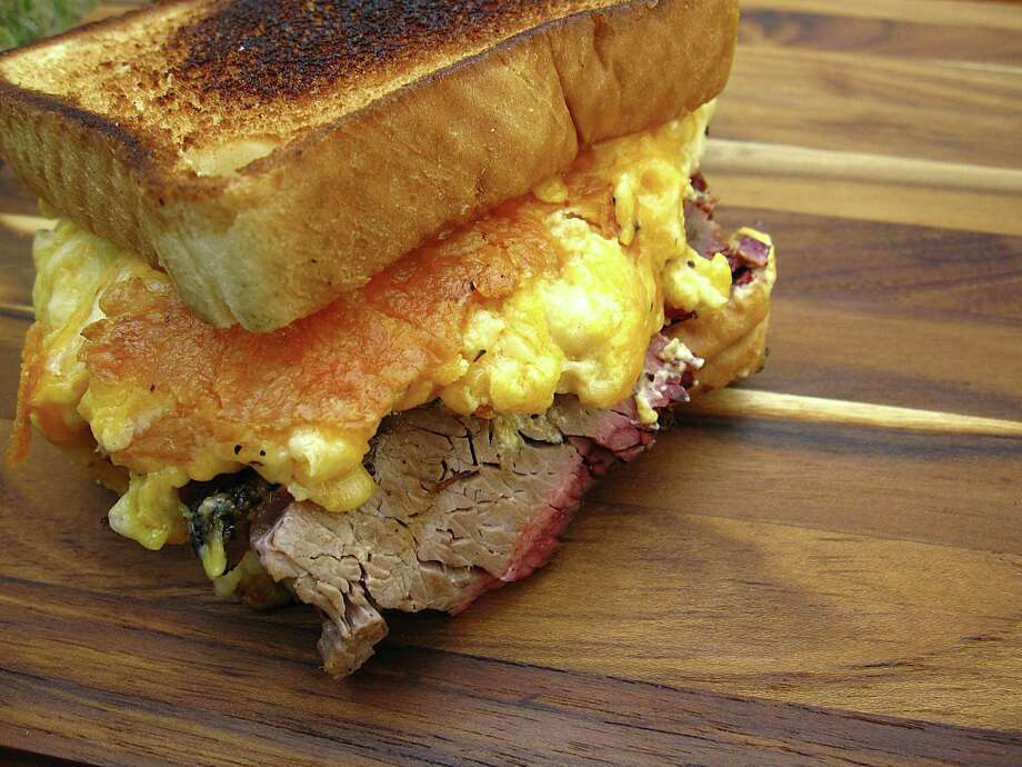 Best mavericks: 3. Nasty Nate sandwich at Nelson's BBQ, food truck at 7327 N. Loop 1604 W., 210-473-4988, Facebook: @NathanielNelsonsbbq. Photo: Mike Sutter /Staff