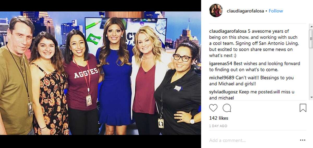 claudiagarofalosa: 5 awesome years of being on this show, and working with such a cool team. Signing off San Antonio Living, but excited to soon share some news on what's next :)