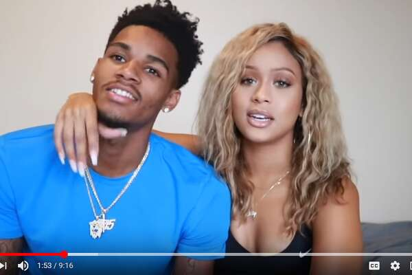 Dejounte Murray and his Instagram-famous girlfriend Jilly Anais marked Tuesday afternoon by launching their YouTube channel with a 9-minute video.