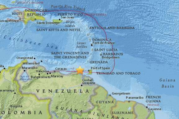The United States Geological Survey reports a preliminary magnitude 7.3 earthquake struck near Irapa, Venezuela on Tuesday.