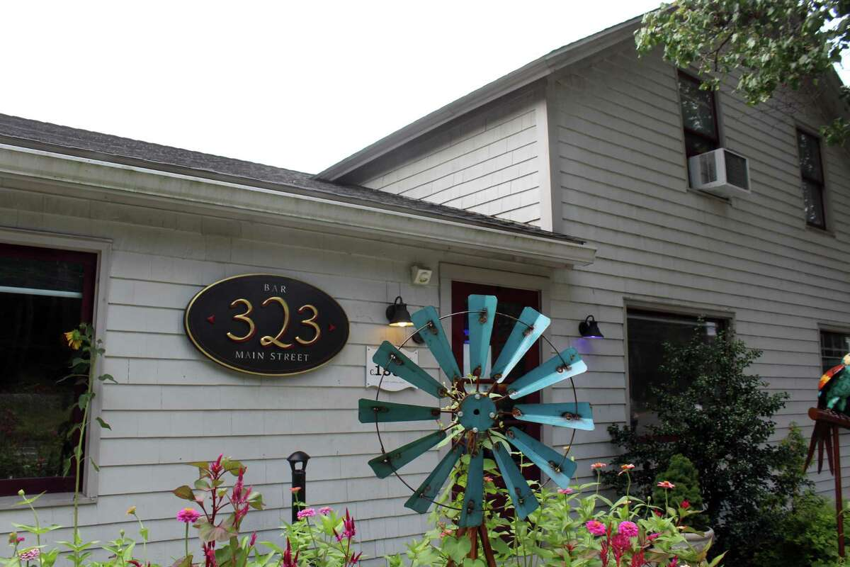 The exterior of 323, a restaurant at 323 Main St. in Westport