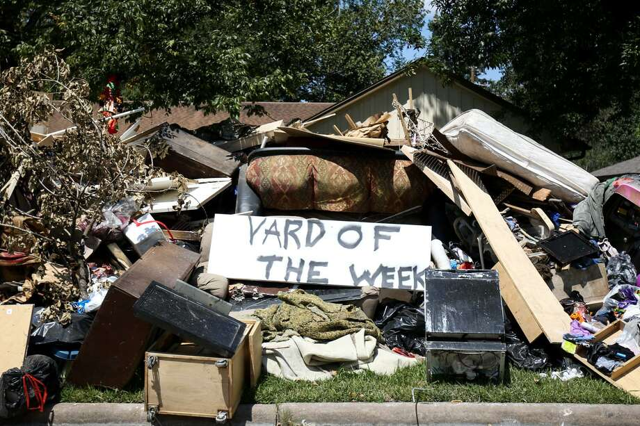 7.Hurricane recovery(tie)  Percentage of Texans who think this is the most important issue facing the state: 2% Photo: Michael Minasi, Staff Photographer / Houston Chronicle / © 2017 Houston Chronicle