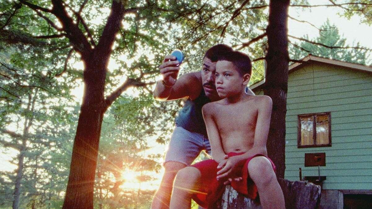 "Raúl Castillo is Paps and Evan Rosado plays Jonah in Jeremiah Zagar's ""We the Animals."""