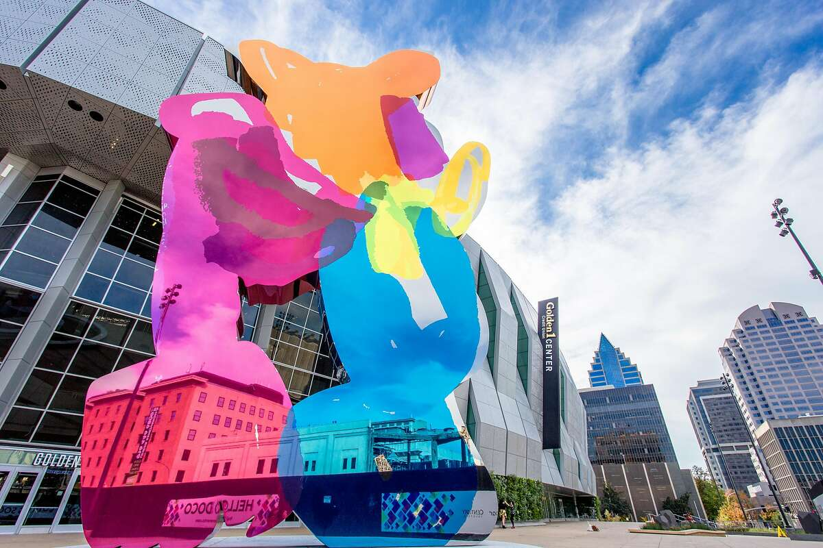 In front of the new Golden 1 Center sits the latest installation from internationally known art provocateur Jeff Koons. The $8 million �Coloring Book #4� aka �Piglet,� which the artist has described as having been inspired by a child coloring over the lines of an image of Piglet.