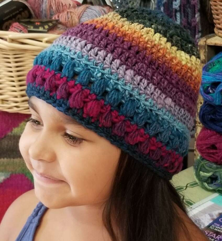 Focus On Fiber Arts A Bobble Brim Hat Thats Easy And Fun The