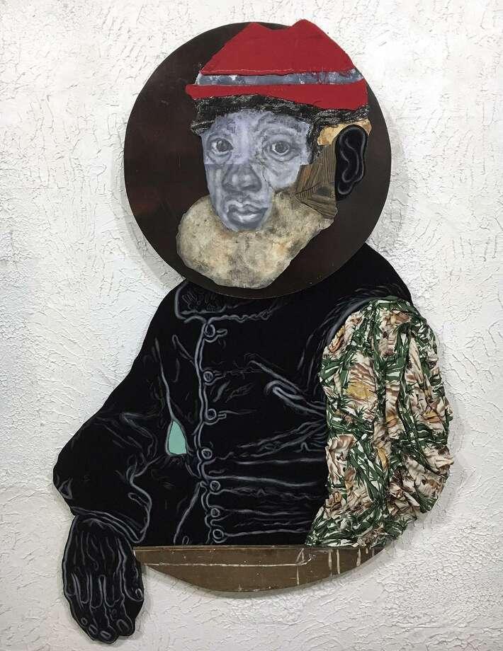 "David Shrobe, ""Knelt"" (2018) Photo: Jenkins Johnson Gallery"