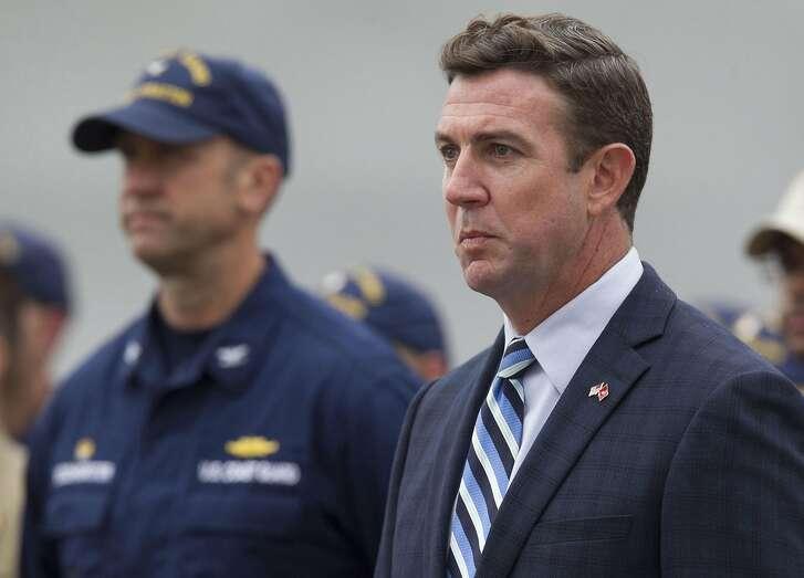 Rep. Duncan D. Hunter in San Diego in a June 2017 file image. (John Gibbins/San Diego Union-Tribune/TNS)