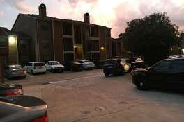 A woman was found dead inside a north Houston apartment Tuesday night.