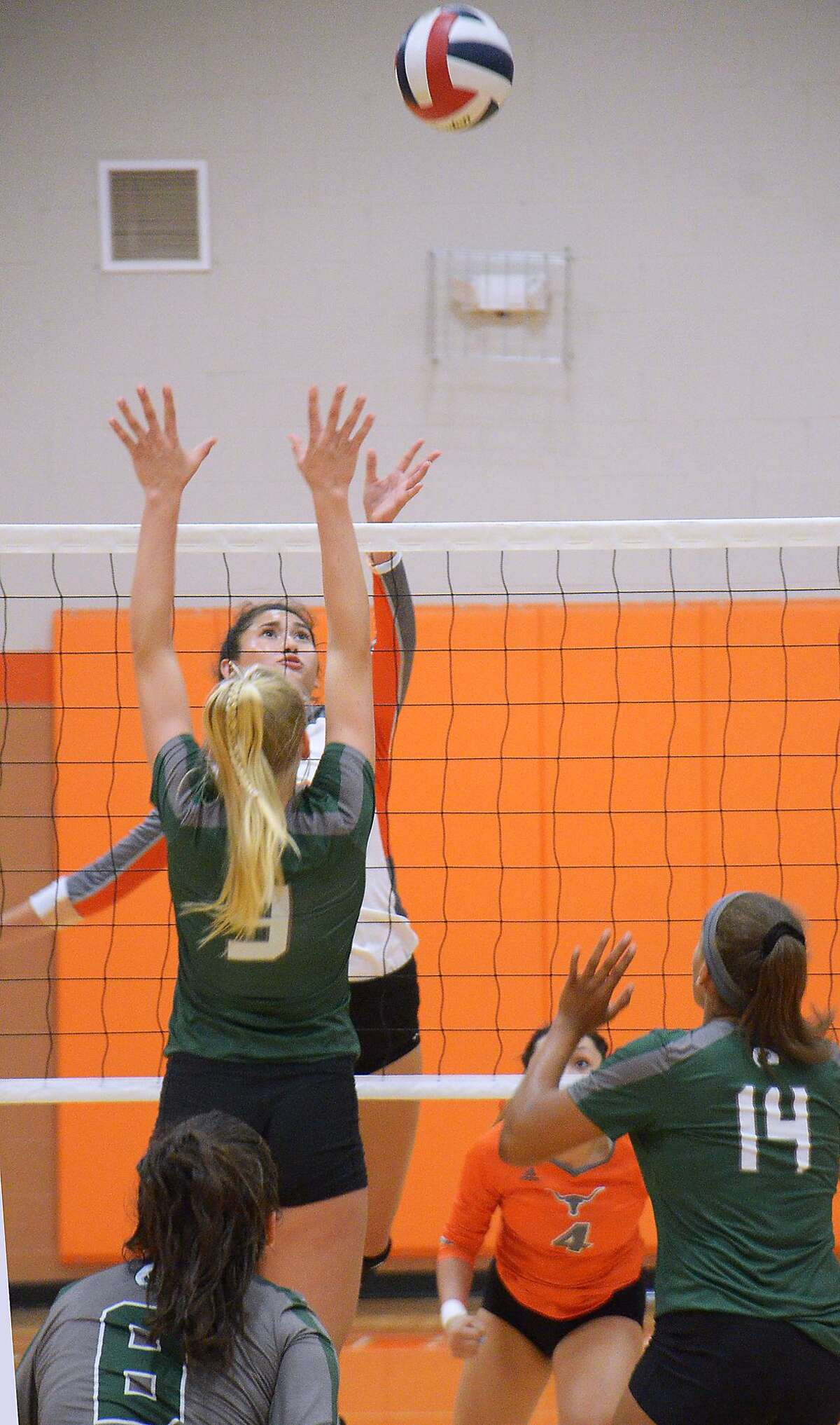 Carolina Medellin and United will be hosting this weekend's volleyball action as all local teams are headed to the Lady Longhorn Tournament with 32 teams competing overall.