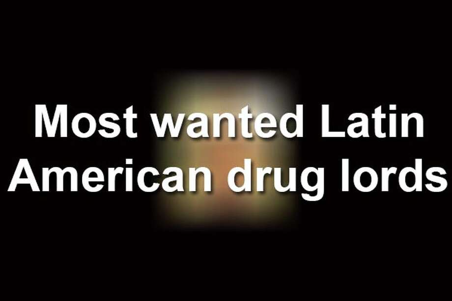 Scroll through to see the Latin American drug lords who police are offering multi-million dollar rewards for.  Photo: U.S. Department Of State