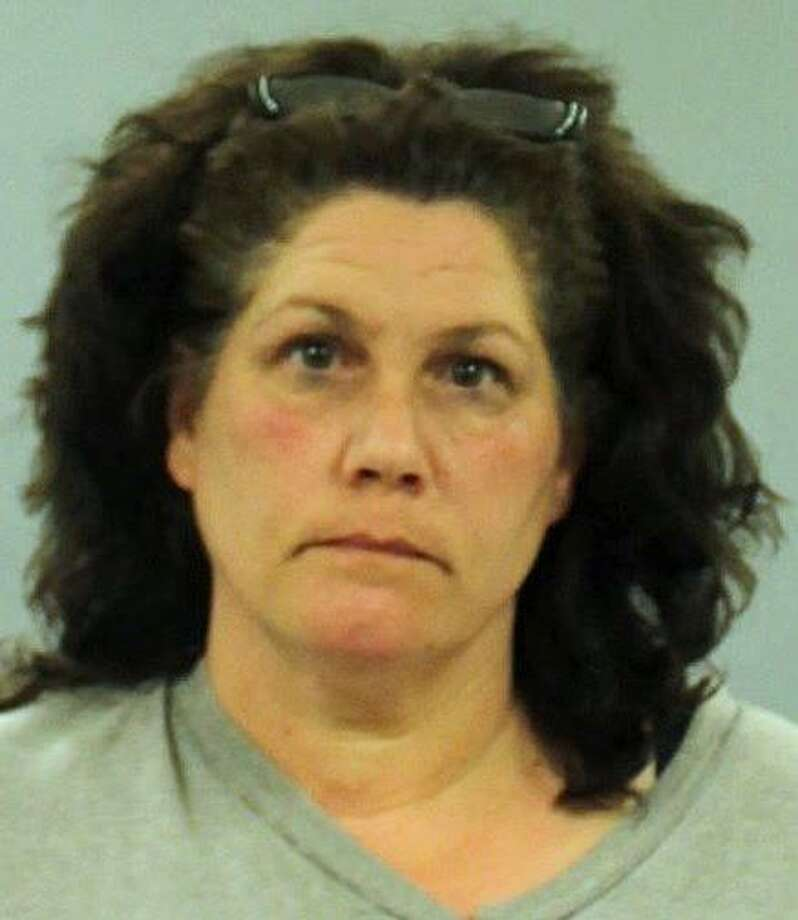"Maryanne Conrad, 50, of Glenbrook Road, was arrested on charges of falsely reporting an incident and giving a false statement. According to State Police, Conrad claimed that on July 30, 2018 in Stamford Superior Court that her husband threatened to kill her. An investigation determined that with ""numerous inconsistancies"" in her statements that the ""threat"" was false. Photo: State Police Photo"