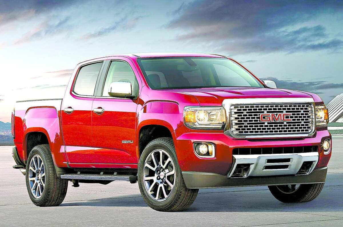 """9. GMC Canyon Assembled in: Wenzville, Missouri MSRP: $22,000 """"Off-road enthusiasts should take note of the ZR2 and special ZR2 Bison models with their advanced, lifted heavy-duty suspension, wider track widths, front and rear locking differentials and aggressive exterior styling."""""""
