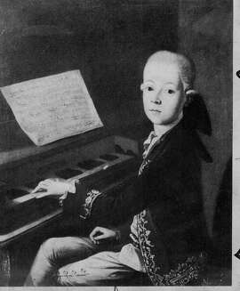Mozart at the piano: Even a young genius needs a teacher