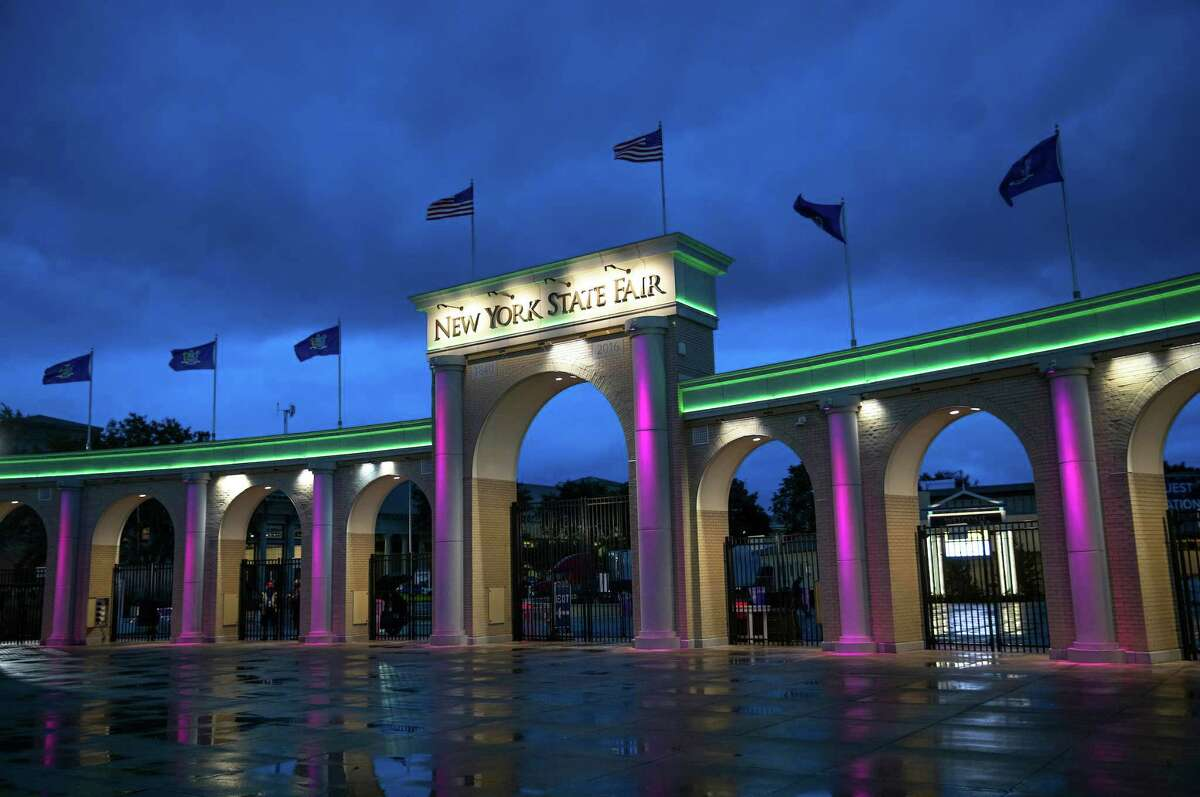 Entrance to the New York State Fairgrounds on Wednesday, Aug. 22, 2018, in Syracuse, N.Y - (Mike Groll/Office the governor)