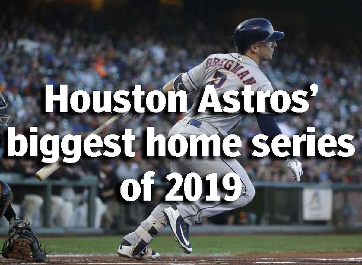 SCHEDULE:Houston Astros' 12 best home series of the 2019 baseball season These are the must-attend games of the Houston Astros' 2019 season at Minute Maid Ballpark. >>> Let's start with a familiar foe ...