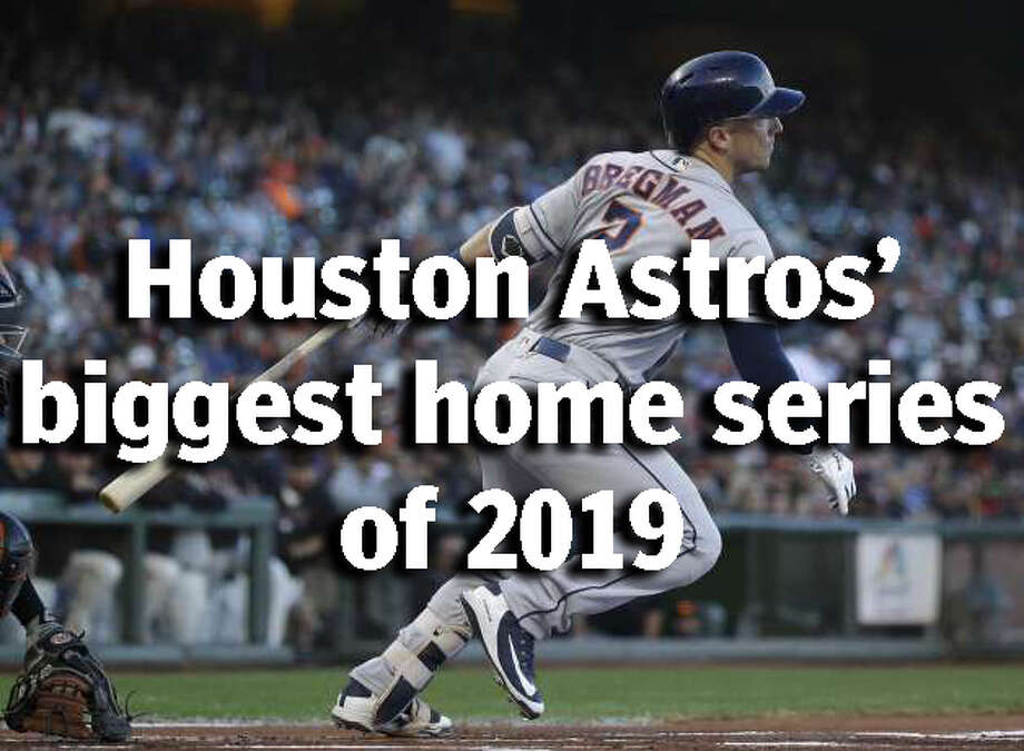 SCHEDULE: Houston Astros' 12 best home series of the 2019 baseball seasonThese are the must-attend games of the Houston Astros' 2019 season at Minute Maid Ballpark.