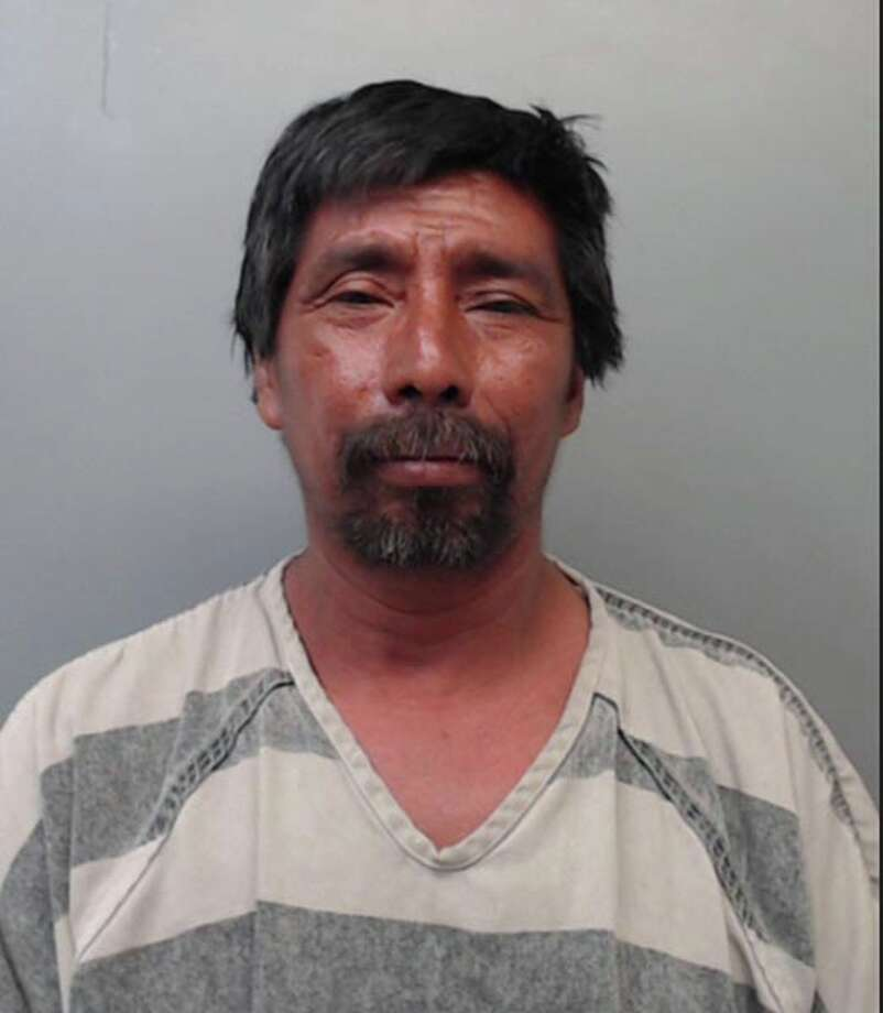 Delfino Guzman, 52, was charged with accident involving injury. Photo: Webb County Sheriff's Office