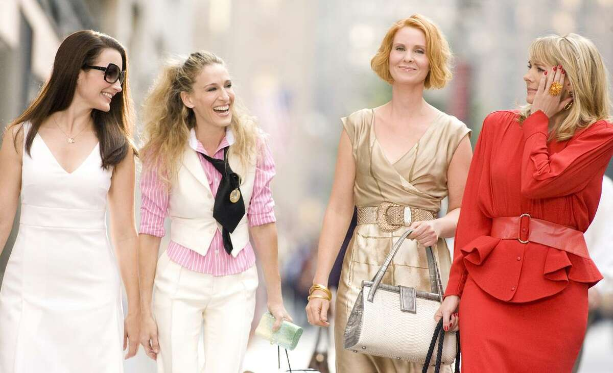 """Sex never stops: The stars of the TV show reprised their roles in the first """"Sex and the City"""" movie: Kristin Davis (Charlotte, left), Sarah Jessica Parker (Carrie), Cynthia Nixon (Miranda) and Kim Cattrall (Samantha)."""