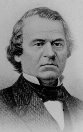 FILE -- An undated portrait of Andrew Johnson, the 17th U.S. president.   The House of Reprsentatives approved 11 articles of impeachment against Johnson in 1868, arising essentially from political divisions over Reconstruction following the Civil War. (AP Photo/ho)