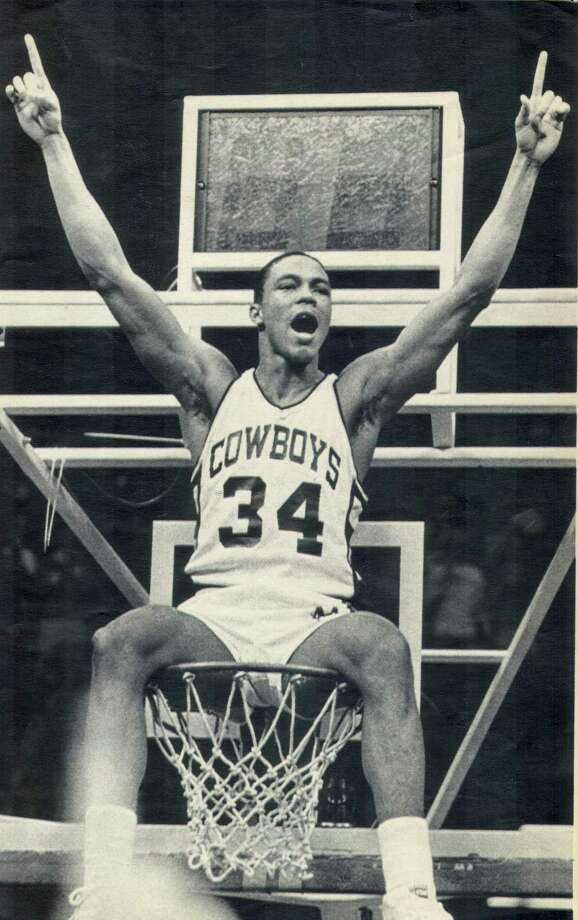Former Fox Tech basketball star Fennis Dembo (who also played for the Detroit Pistons), shown during his days at Wyoming. Photo: /FILE PHOTO