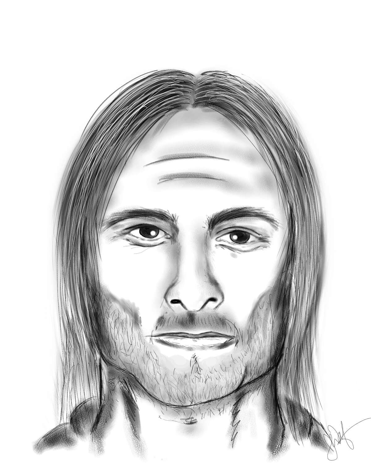 The King County Sheriff's Office released this sketch of the teen's attacker days after the attempted kidnapping in August.