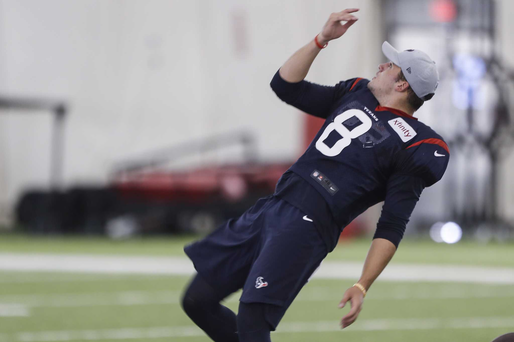 New Texans punter Trevor Daniel grateful for opportunity