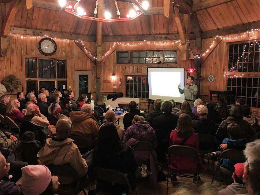Dudley Observatory's astronomer Valerie Rapson nominated Knox retirees Amy and Russ Pokorny for a NASA award honoring the couple for increasing interest in astronomy. They host monthly Star Parties in the beautiful Octagon Barn they built on their property. Dudley supplies the telescopes.