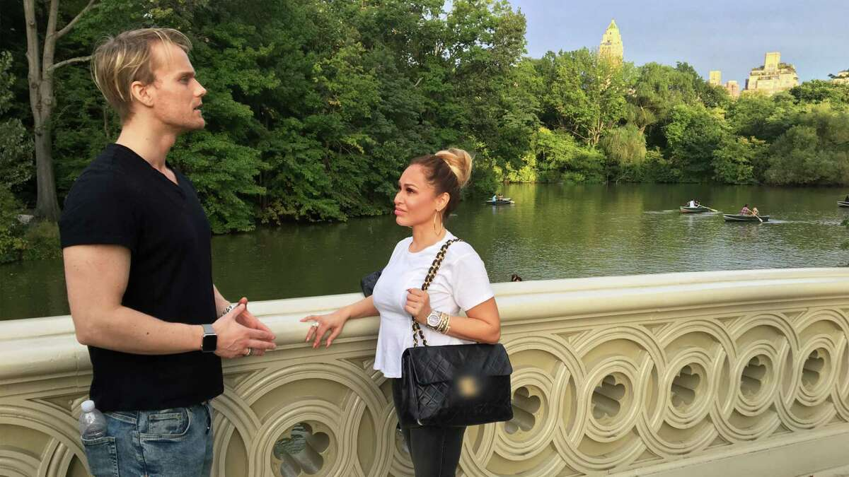 """""""90 Day Fiance: Before the 90 Days,"""" which airs Sundays at 8 p.m. on the TLC channel, features Darcey Silva, a Middletown resident. Here she is shown with her suitor Jesse Meester of Netherlands, Amsterdam."""