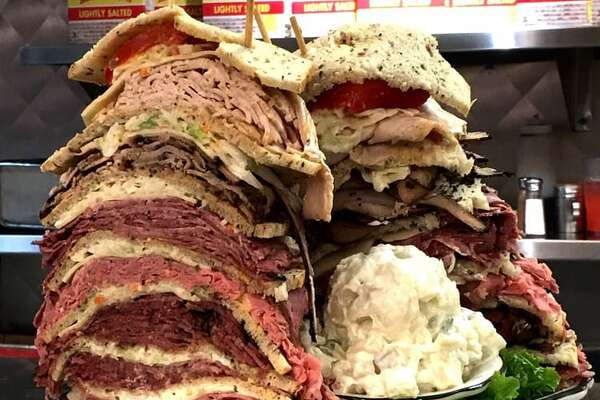 Kenny & Ziggy's2327 Post Oak, Galleria/UptownSpecialties: A monstrous sandwich, plus a few smaller ones that are probably more suited for lunch. Photo: Yelp/Cindy S
