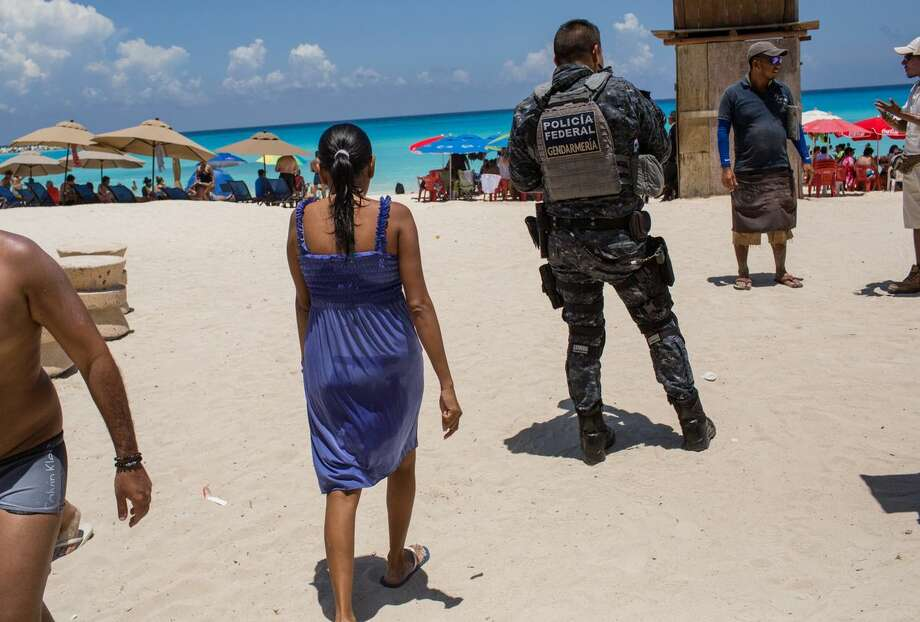 Eight bodies - two dismembered - found in streets of Cancun