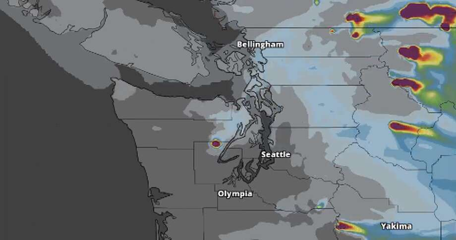 Seattle Wakes Up To Light Misting As Marine Layer Begins To Push