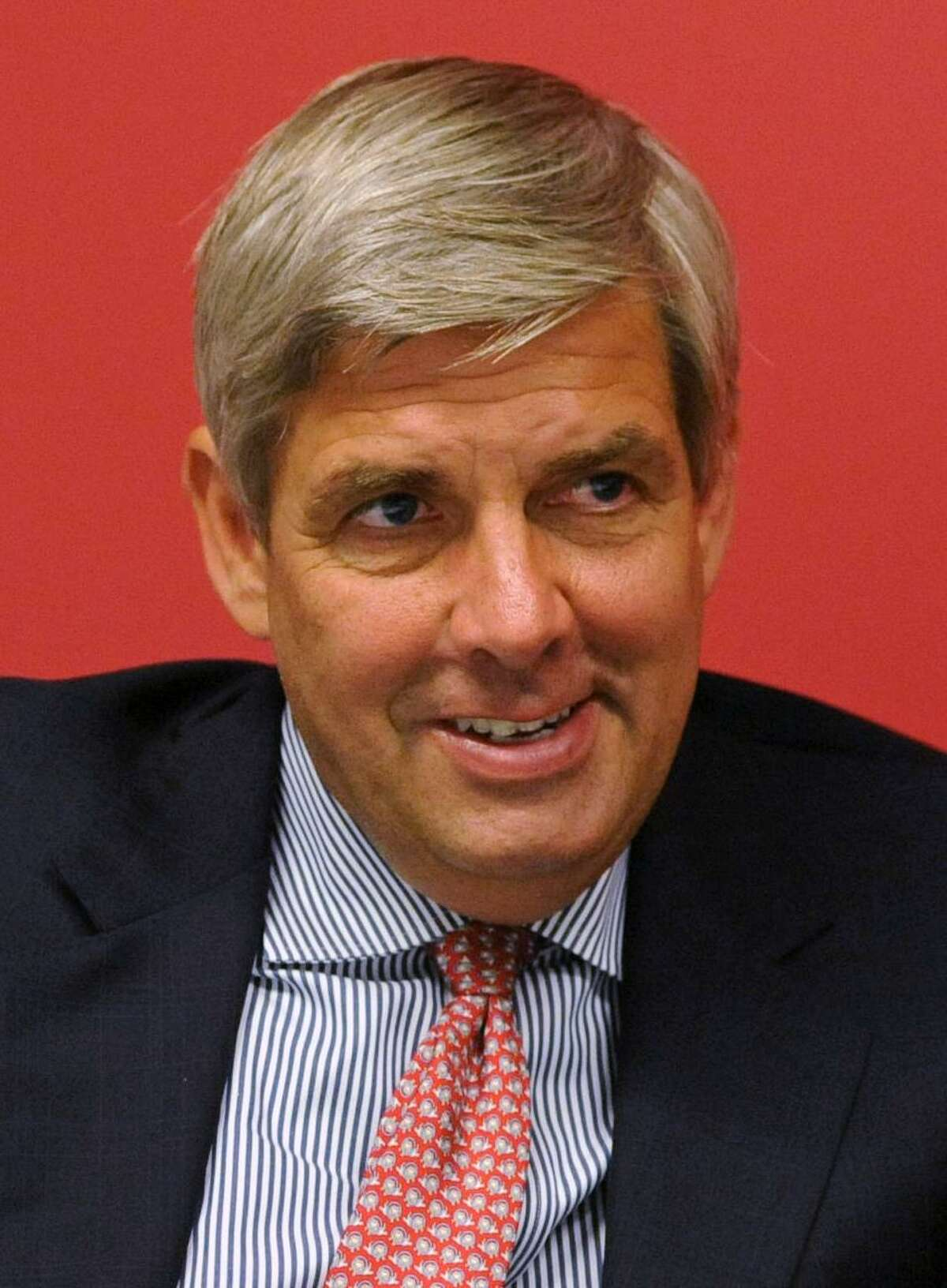 Bob Stefanowski, Republican candidate for governor of Connecticut, meets with the Hearst editorial board on Thursday, August 3, 2018.