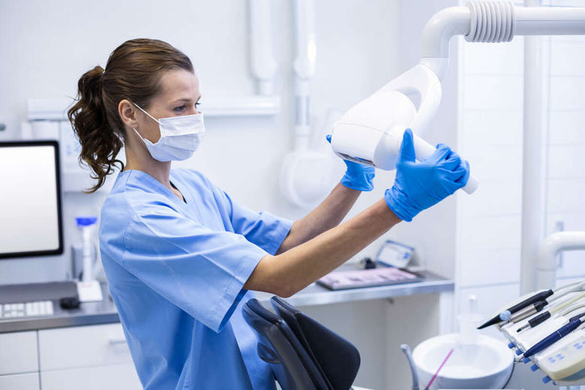 15. Dental assistants - Millennial percent of total employment: 45.5%  - Median age of all employees: 36.7  - Total employment: 299,000 (19.5% projected growth)  - Median annual wage: $37,630  - Typical entry-level education: Postsecondary nondegree award  Dental assistants perform many duties in a dentist's office, including taking x-rays, setting up equipment, or performing administrative duties such as recordkeeping and scheduling. While dentists are required to have an MD in dental medicine, dental assistants can be trained on the job or by passing an exam after completing an accredited program. The high job growth can be partially attributed to the healthcare demands of an aging population.