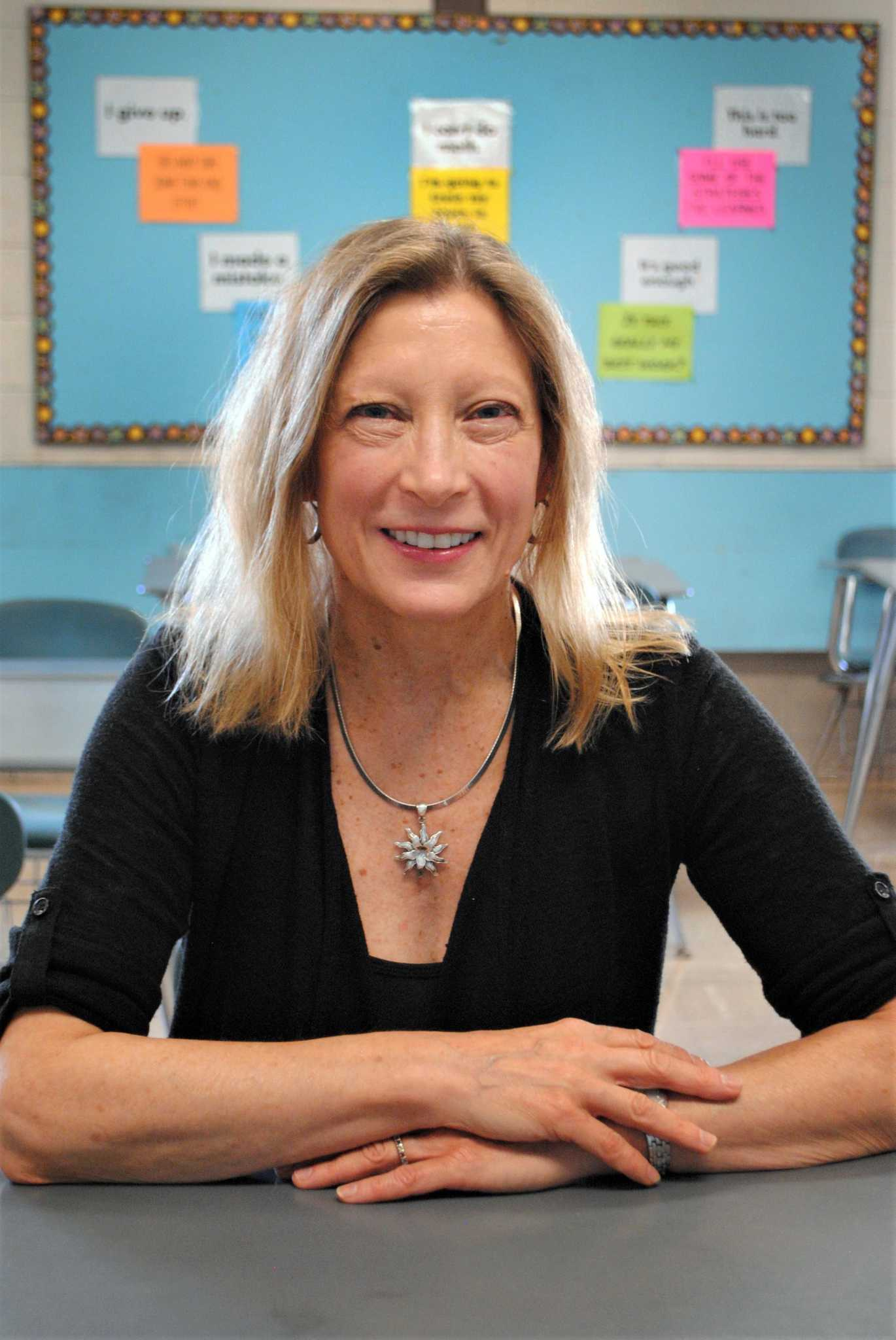 Broadview middle s ellen meyers named danbury teacher of for The danbury