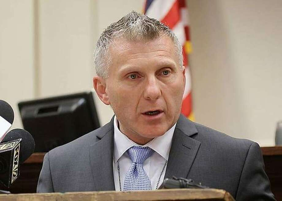 Alton Police Department Chief of Detectives Lt. Gary Cranmer, a 22-year veteran of the department is set to retire Aug. 31. Photo: Nathan Woodside | File Photo
