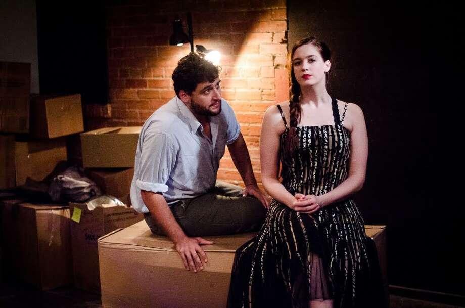 "Gabriel RegojoandDanielle Grisko in ""Hedda Gabler,"" at Rec Room, 2018 Photo: Courtesy Rec Room / Courtesy Rec Room"