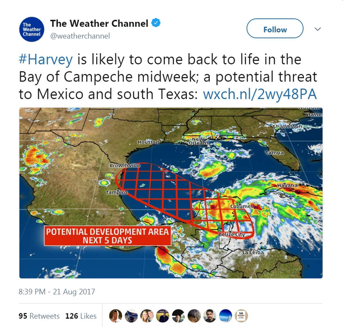 The Weather Channel, August 21