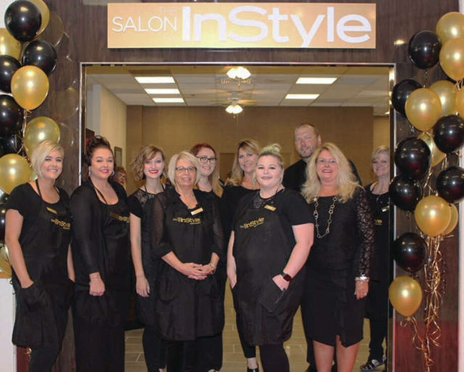 J.C. Penney Corp. entered a partnership with InStyle magazine to re-brand its stores' salons. The Salon By InStyle inside Alton Square Mall's JCPenney celebrated its grand opening a few weeks ago. Photo: For The Telegraph