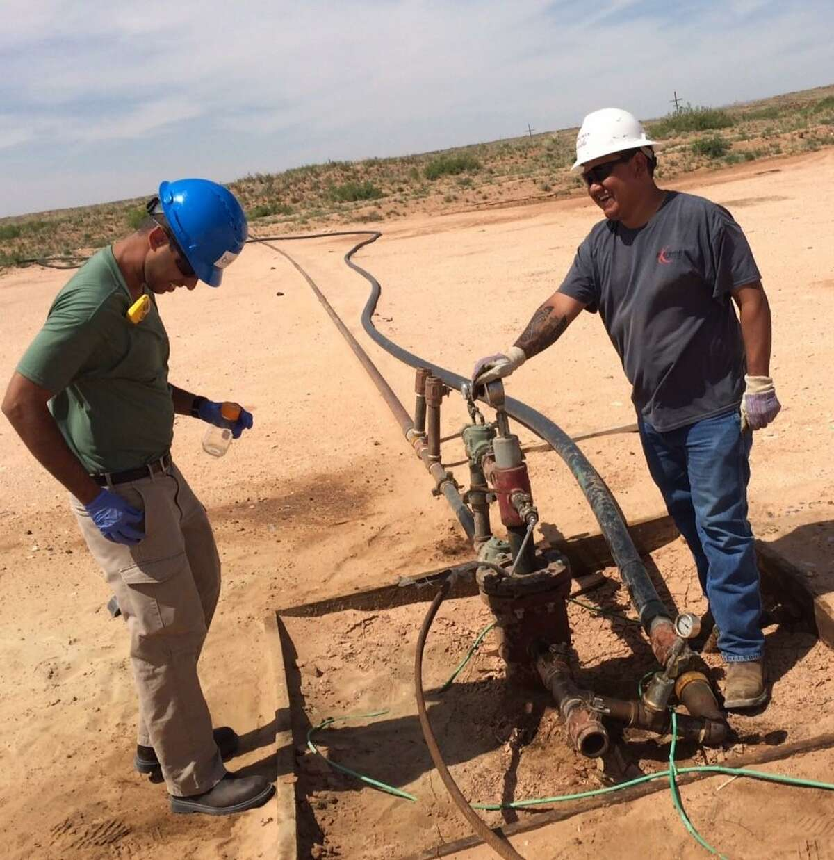 Biota, a California startup, is developing a means of improving oil and gas operations by analyzing the bacteria that emerge from the wellhead.