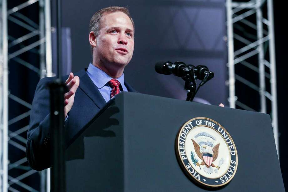 NASA Administrator Jim Bridenstine in 2018.  >>PHOTOS: Red Planet is surprisingly colorful  Photo: Michael Ciaglo, Staff Photographer / Michael Ciaglo