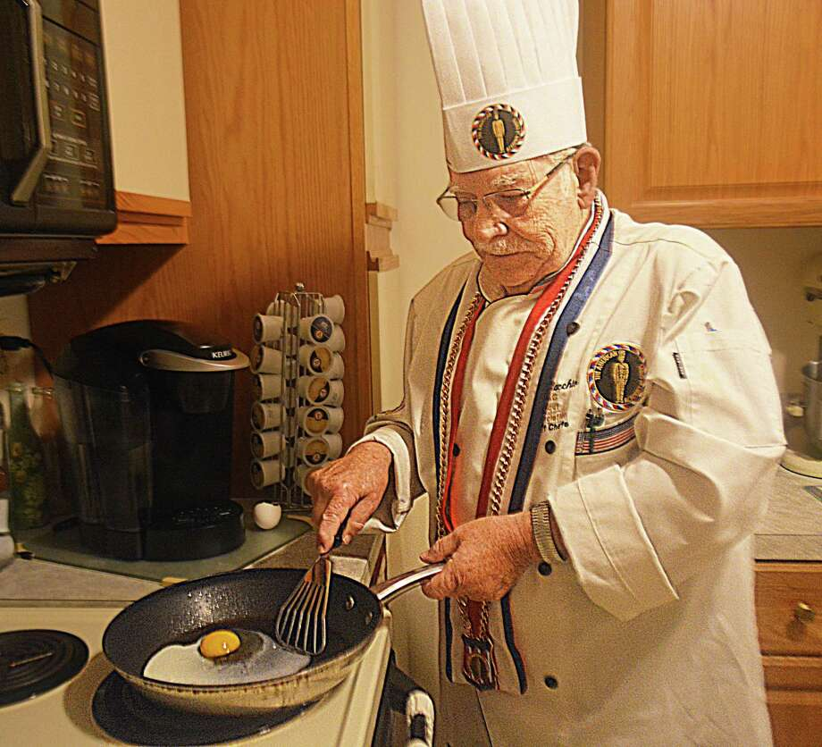 Nicholas Fallacchio of Middletown was inducted into the American Academy of Chefs Hall of Fame in New Orleans July 17. He's garnered many top awards over the years, including 2001 teacher of the year while working at Howell Cheney Regional Vocational-Technical School in Manchester and Connecticut Chef's Association chairman's award for outstanding performance. Photo: Cassandra Day / Hearst Connecticut Media