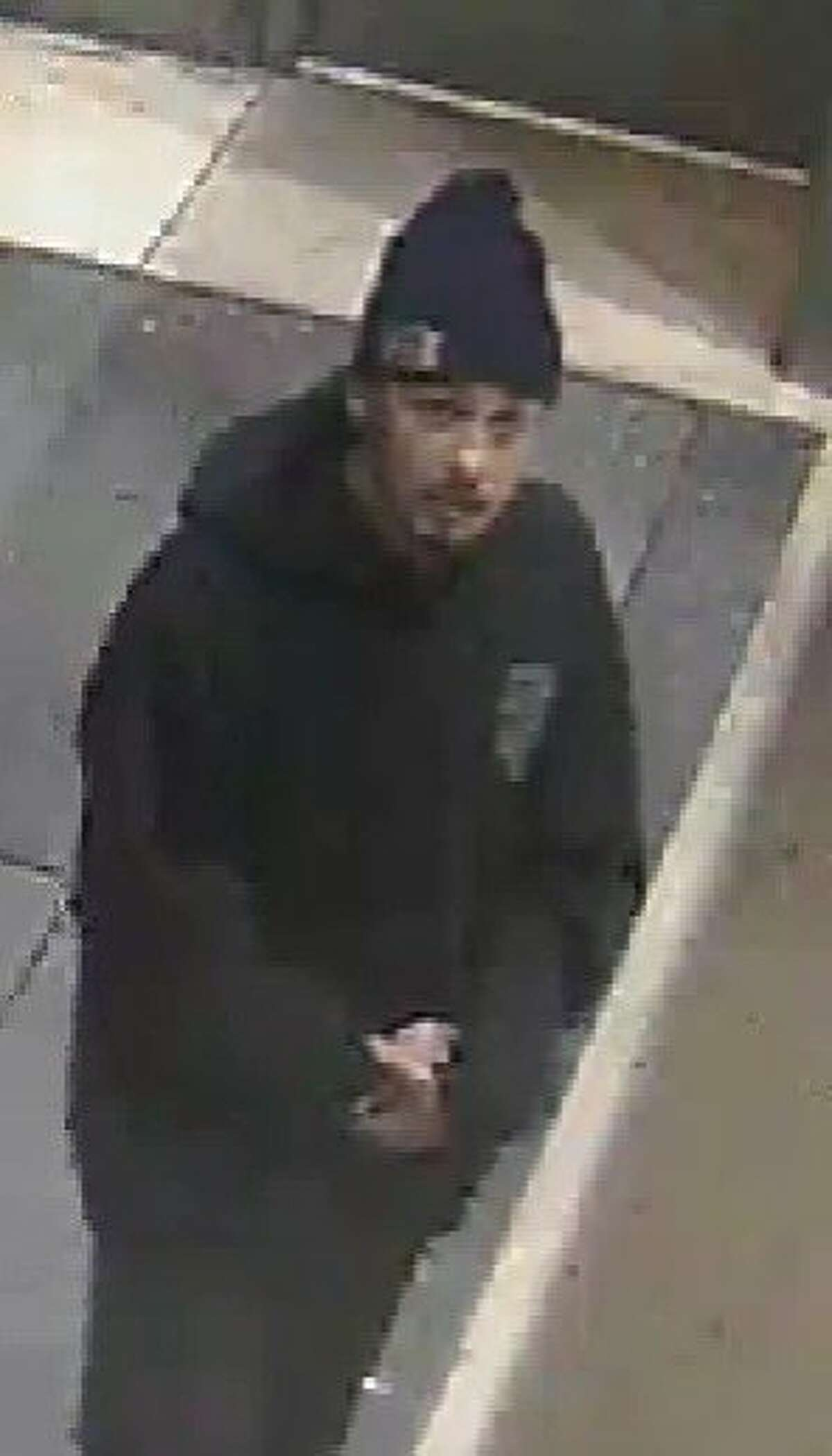 BART police are asking for the public's help in identifying a man they believed may be connected to an early morning stabbing near the Warm Springs / South Fremont BART station.