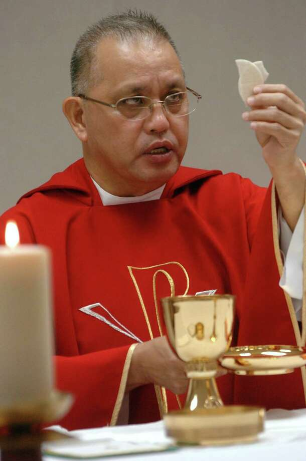 The Catholic Diocese of Dallas says Father Edmundo Paredes may have fled to the Philippines. Photo: Juan Garcia /The Dallas Morning News / The Dallas Morning News