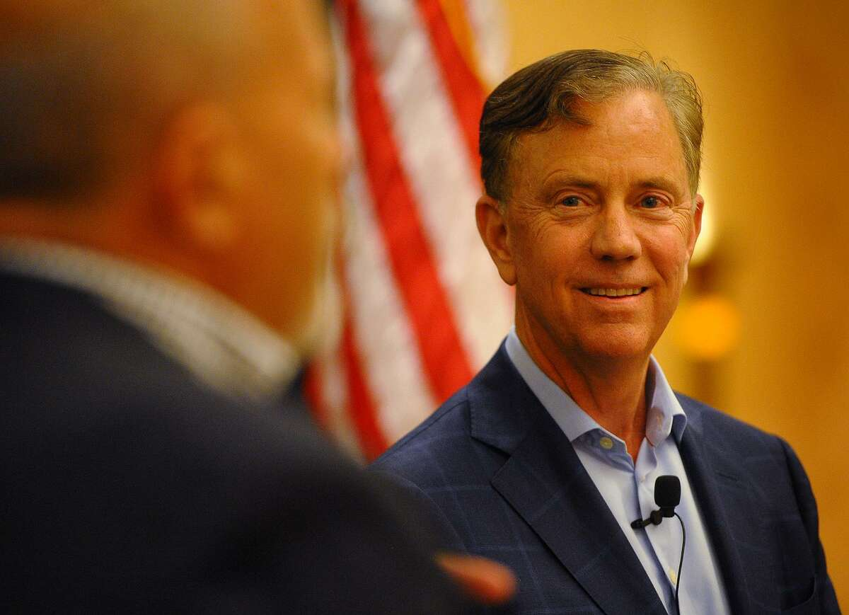 Democratic candidate for governor Ned Lamont